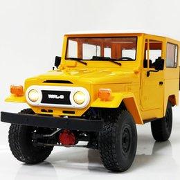 Cross-Border Pink Dragon FJ40 C34 Four-Wheel Drive Linked Climbing Car Upgrade Modified DIY Model Toys One-Button Generation