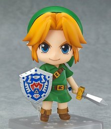 Zelda Link Figure Australia - Q version Nendoroid The Legend of Zelda Link 553# Action Figures Valentine's Day Gifts Toys Birthdays Gifts Doll Free Shipping