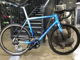 bike complete Australia - 2019 Colnago art decor blue black glossy frame BDBL bicycle Road complete Bike Original ULTEGRA groupset