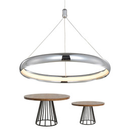 $enCountryForm.capitalKeyWord UK - Modern Pendant Light For Lobby Dining Room single ring Arts Decoration Hanging Lighting Fixtures LED Home Lamps