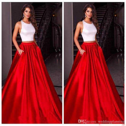 Chinese Sexy Crystal Dress Australia - New Cheap Chinese Halter Luxury Red Skirt Prom Dresses Satin Custom Formal Underpart Dresses Evening Wear Party Gowns