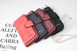 Wholesale best scrubs for sale – custom Baellerry Brand Wallet best price Women Big Capacity Three Fold Lady Purses High Quality Scrub Leather Female Wallets carteira feminina