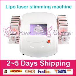 lipo lipolysis machine 2019 - Newest Laser Lipo Lipolysis Beauty Machine Slimming Cellulite Removal Fat Burning Reduction 650nm 980nm Diode Laser Weig