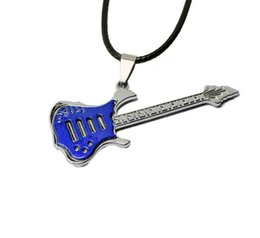 Music necklace pendants online shopping - Pretty Guitar Pendant Necklace Beautifully Free Punk Music Jewelry Hip Hop Rock Jewelry Gift Music Leather Necklaces Choker Necklace