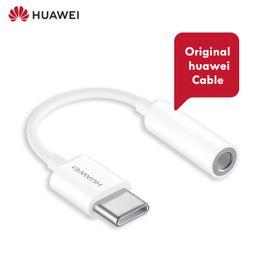 Huawei original earpHone online shopping - original huawei usb Type c to mm jack earphone cable Huawei mate pro P20 pro mate usb to earphone audio adapter