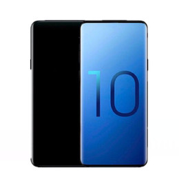 android smartphone analog tv 2019 - Goophone ES10 Plus 9 plus Quad Core 1GB RAM 8GB ROM 6.3inch 3G WCDMA GPS Smartphone show fake 4g lte Sealed Box cheap an