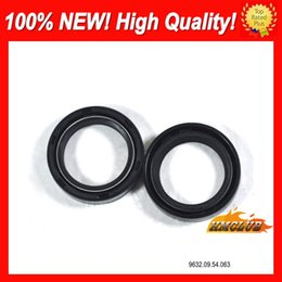 yamaha wholesale NZ - Motorcycle Front Fork Oil Seals Set For YAMAHA XJ6R 09-12 XJ 6R XJ6 R XJ 6 R 09 10 11 12 2009 2010 2011 2012 CL247 Shock Absorber Oil Seal