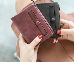 $enCountryForm.capitalKeyWord Australia - Women Wallet 2019 Luxury PU Leather Small Wallet Fashion Designer Zipper Purse Women Mini Purse Money Bag Card Holder Carteira