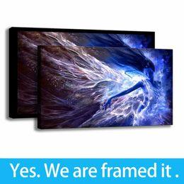 $enCountryForm.capitalKeyWord Australia - Canvas Painting HD Print The Air Element Art Fantasy Goddess Wall Decor Framed Art - Ready To Hang - Support Customization