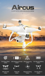 dji gps NZ - GPS Drone Brushless Professional 5G Follow Me WiFi FPV 1080P HD camera VS DJI phantom 3 phantom 4 pro RC DRONE RC Quadcopter T200516