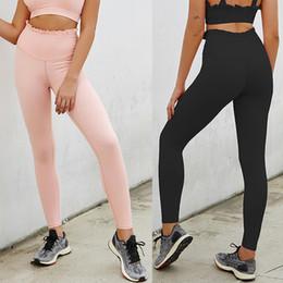 $enCountryForm.capitalKeyWord Australia - Pure Color Seamless Leggings Casual Push Up Leggings Women Summer Workout Polyester Jeggings Breathable Slim 7.12