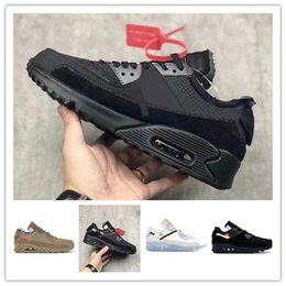 Classic Sport Discount NZ - Mens 2019 90 Off Running Shoes Sneakers Man Desert Ore Brown Airing Fashion Designers Luxury Classic 90s Discount Training Sports Shoes 30