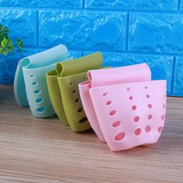 $enCountryForm.capitalKeyWord Australia - Kitchen Sink Sponge Rack Holder Hanging Drain Basket Suction Cup Soap Shelf Hollow Drain Sucker