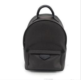 Discount canvas skull print backpack - 2019 Hot Hight Quality Women's Palm Springs Mini Backpack Genuine Children Backpacks Women Printing Leather Mini Wo