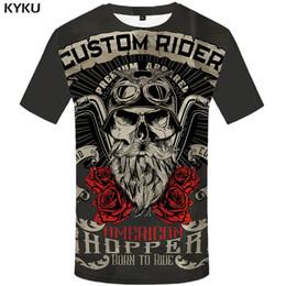 $enCountryForm.capitalKeyWord Australia - Brand Motorcycle T Shirt Punk T-shirt Knight Shirts 3d T Shirt Men Casual Rock Vintage Hip Hop Summer Tee Top Homme Clothes