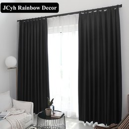 Modern Fabric For Curtains Australia - 90%Blackout Window Curtains For The Living Room Bedroom Modern Blinds Curtains For Kitchen Drapes Fabric Panel Cortina Para Sala