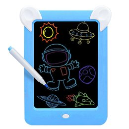 painting write board Australia - LED Luminous Painting Board Electronic Fluorescent Writing Children's Lighting Painting Board Wear-resistant Anti-fall