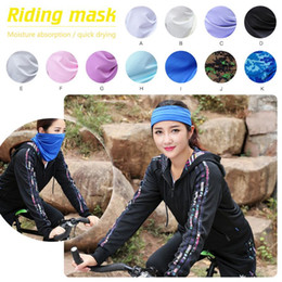 $enCountryForm.capitalKeyWord NZ - Cycling Mask Outdoor Sports Bicycling Masks Magic Scarf Riding Headband Face Mask for Men Women Cycling Head Scarf Caps