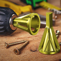 $enCountryForm.capitalKeyWord Australia - Metal Drills Deburring External Chamfer Tool Drill Bit Stainless Steel Remove Burr Repairs Tools for Chuck Drill Quick Change Metalworking