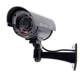 Weatherproof Wireless Ip Security Camera Australia - IG-Simulated Surveillance Cameras - Wireless IP Security fake Dummy IR LED cameras - Night Day Vision Look, Weatherproof bulle