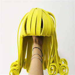 $enCountryForm.capitalKeyWord UK - Y36 Party singer stage dance headpiece dj wig stage costumes models headwear dress disco show hairs performance outfit clothe ds party show
