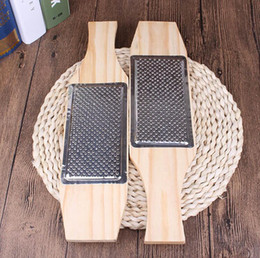 $enCountryForm.capitalKeyWord NZ - Wood Ginger Garlic Press Crusher Kitchen Cooking Tools - Stainless Steel Grinding Squeezer Masher Grater Planer Slicer Cutter Kitchen Gadget
