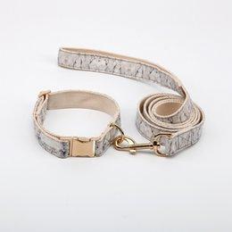 16 years factory free sample rose gold hardware fabric luxury metal buckle custom dog collar