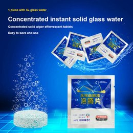 Wipers for glasses online shopping - Car Cleaning Effervescent Tablets Windscreen Cleaner Solid Wiper For Windshield Glass XR657