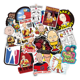 one piece sticker wall Australia - 70 PCS ONE PUNCH MAN anime waterproof anime Stickers Graffiti for DIY Sticker on Suitcase Luggage Laptop Bicycle Skateboard Car