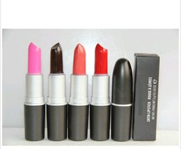 $enCountryForm.capitalKeyWord Australia - NEW cosmetics Good Quality Brand makeup MATTE LIPSTICK ROUGE A LEVRES 3G ,lip stick 12 different color
