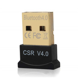 wireless usb music headphones Canada - Mini USB Wireless CSR 4.0 Bluetooth Transmitter for Windows PC V4.0 Blue Tooth Headphones Speaker Audio Music Reciever Adapter