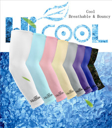 Riding bikes online shopping - Cooling Arm Sleeves Cover UV Sun Protection Golf Bike Outdoor Sports Riding Cycling UV Protection Sleeves Arm Warmer MMA1918