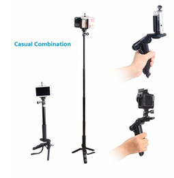 Wholesale Mini tripod leg Camera macro stand mobile phone Hand held stabilizer for with non slip mat