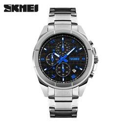 $enCountryForm.capitalKeyWord Australia - 2Waterproof Man Business Affairs Wrist-watches Waterproof Six Needle Quartz Watch High Gear Steel Bring Wrist Watch