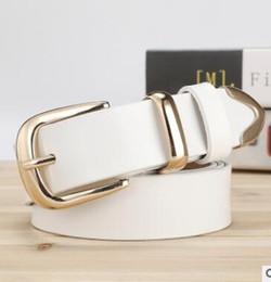 Decorative Leather Belts NZ - New lady leather belt Korean version simple joker pure cowhide buckle belt female wide decorative cow belt wholesale03