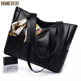 Tote Large Australia - New Autumn Famous Bags Fashion Pu Leather Women Shoulder Bag High Quality Ladies Handbags2019 Large Capacity Tote Bag Handtasche Y19061803