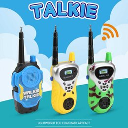 $enCountryForm.capitalKeyWord Australia - Kids Walkie Talkie Toys Dress up Toys for boys and girls used at home park and outside best Xmas gifts for children C12