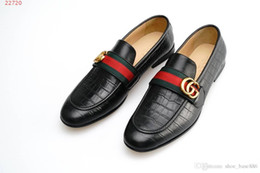 American Leather Shoes Australia - 2019 fashion new black men European and american style Classic patent leather men dress shoes size 39-45