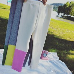 $enCountryForm.capitalKeyWord UK - 2018 Spring Autumn New Korean Children's Wear Girls Single-sided Contrast Trousers Baby Cotton Wear Leggings Tights Baby's Kids Lo