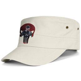 $enCountryForm.capitalKeyWord Australia - Womens Mens Flat-along Adjustable art 3d punisher skull Rock Punk Cotton Baseball Hat Golf Bucket Hats Military Caps Airy Mesh Hats For Men