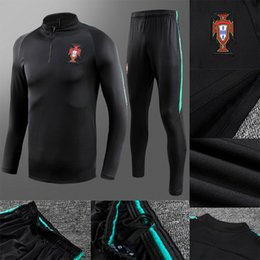 Chinese  2018 Thailand soccer tracksuit 18-19 Training suit pants football training clothes sportswear mens Sweater suit manufacturers