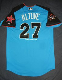 9ba376162 Cheap Retro  27 JOSE ALTUVE 2017 Majestic American League All Star Houston  Jersey 44 L Mens Stitched Baseball jerseys