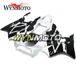 f4i fairings UK - Full Fairing Kit For Honda CBR600F4i 2001 2002 2003 CBR600 F4i 01-03 Injection ABS Plastic Motorcycle Bodywork Gloss Black White Carenes New