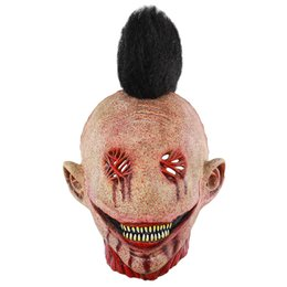 $enCountryForm.capitalKeyWord Australia - Halloween Creepy Zombie Mask Horrible Adult Full Face Scary Masquerade Masks Horror Cosplay The Evil Bloody Mask Biochemical Caps Mask