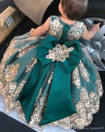 ice blue pageant dresses Australia - New Pretty Flower Girls Dresses Ruched Tiered Ice Puffy Girl Dresses for Wedding Party Gowns Plus Size Pageant Dresses Sweep Train