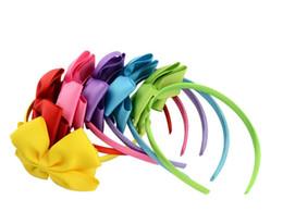 $enCountryForm.capitalKeyWord UK - bowknot Hair Accessories For Infant Baby Lace Big Flower Bow Princess Babies Girl Hair Band Headband Baby's Head Band Kids FZP232