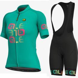 $enCountryForm.capitalKeyWord UK - ALE women short sleeve Cycling jersey bib shorts Set MTB Bicycle Clothes Maillot Ropa Ciclismo 100% Polyester Racing Bike Cycling Clothing