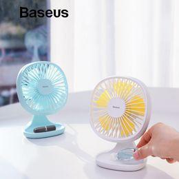 $enCountryForm.capitalKeyWord Australia - Baseus Usb Gadgets Cool Fan Portable Ventiladors 3-speed Electric Mini Usb Fan Quiet Summer Cooler 5 Blades Desktop Office Fan T190626