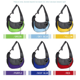 $enCountryForm.capitalKeyWord Australia - Pet Carrier Small Animal Cat Dog Carrying Bag Breathable Mesh Portable Travel Tote Shoulder Bag Sling Backpack Pet Supplies