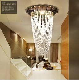 $enCountryForm.capitalKeyWord Australia - New modern K9 transparent crystal ceiling lamp aisle staircase porch cloakroom lamp creative chandelier lighting #6729